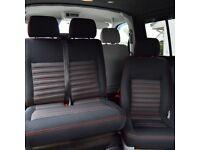 Volkswagen T5 T6 Transporter upholstered seats