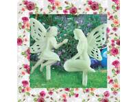 Glow in the dark fairies set of 2