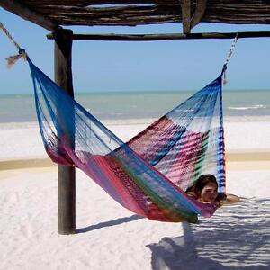 Authentic Handmade Mayan Hammocks - Great selection of size and colors - Quality & Comfort