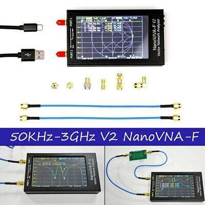 4.3Inch 50KHz-3GHz NanoVNA-F V2 VNA Network Antenna Analyzer +Protective Cover