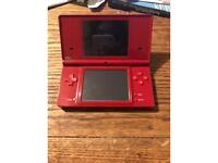 Red colour Nintendo DS was £50 now £20!