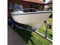 Terhi Nordic 6020C fishing boat, speed boat