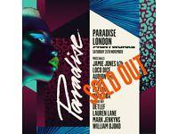 Printworks Paradise 25th November Ticket