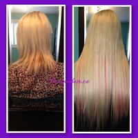 Fusion/Microlink or Tape Hair Extension Install $1 per strand