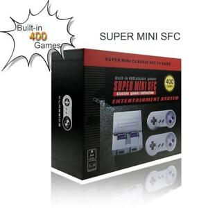 Calgary - Super Mini SFC SNES Type 8 Bit Game Console with Built-in 400 Classic Games