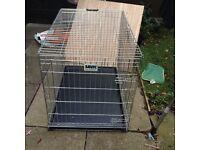 Dog Cage W72cm D108cm H80 £25