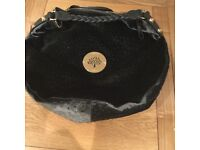 New Mulberry Daria Grey Velvet stunning bag with dustbag