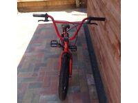 Red Custom BMX