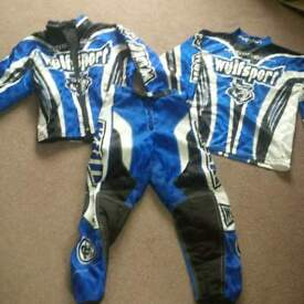 Boys Wulf motorcross clothing