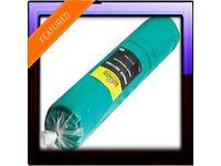 ⛅ 50meters x 3meters ✅scaffolding Debris Netting Green rrp £65