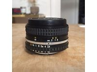 Nikon Nikkor Series E AIS AI-S 28mm f2.8 Prime Lens, Excellent Condition!