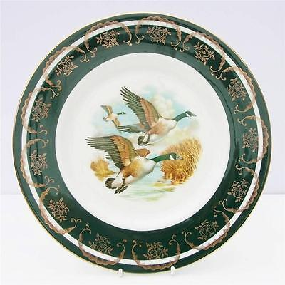 Vintage Fine Bone China Flying Geese Plate