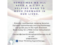 Solution Focused Hypnotherapy - 50% off Limited time only offer.