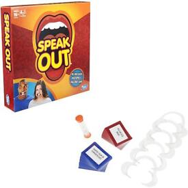HASBRO Speak Out Game NEW & SEALED
