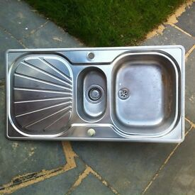 Franke Stainless Steel Sink £15