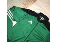 Adidas track hoodie size small