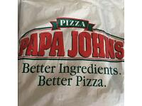 Pizza maker, Store team members/ Delivery Driver