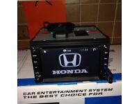 Honda Cars Full European Map Igo 8 Gps Full Hd Model Dvd Gps/AUX/USB/SD/ Built-in Bluetooth