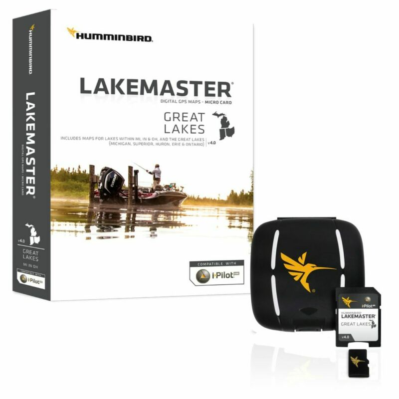 Humminbird Lake Master Great Lakes Edition GPS Map Micro SD V4 600015-7