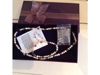 3 piece pearl set, very fashinable