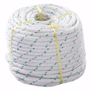 NEW 150 FT DOUBLE BRAID POLYESTER ROPE SLING 5900LBS BREAK ROPEP AS LOW AS 31.95