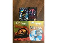 Kids books bundle (age 8+)