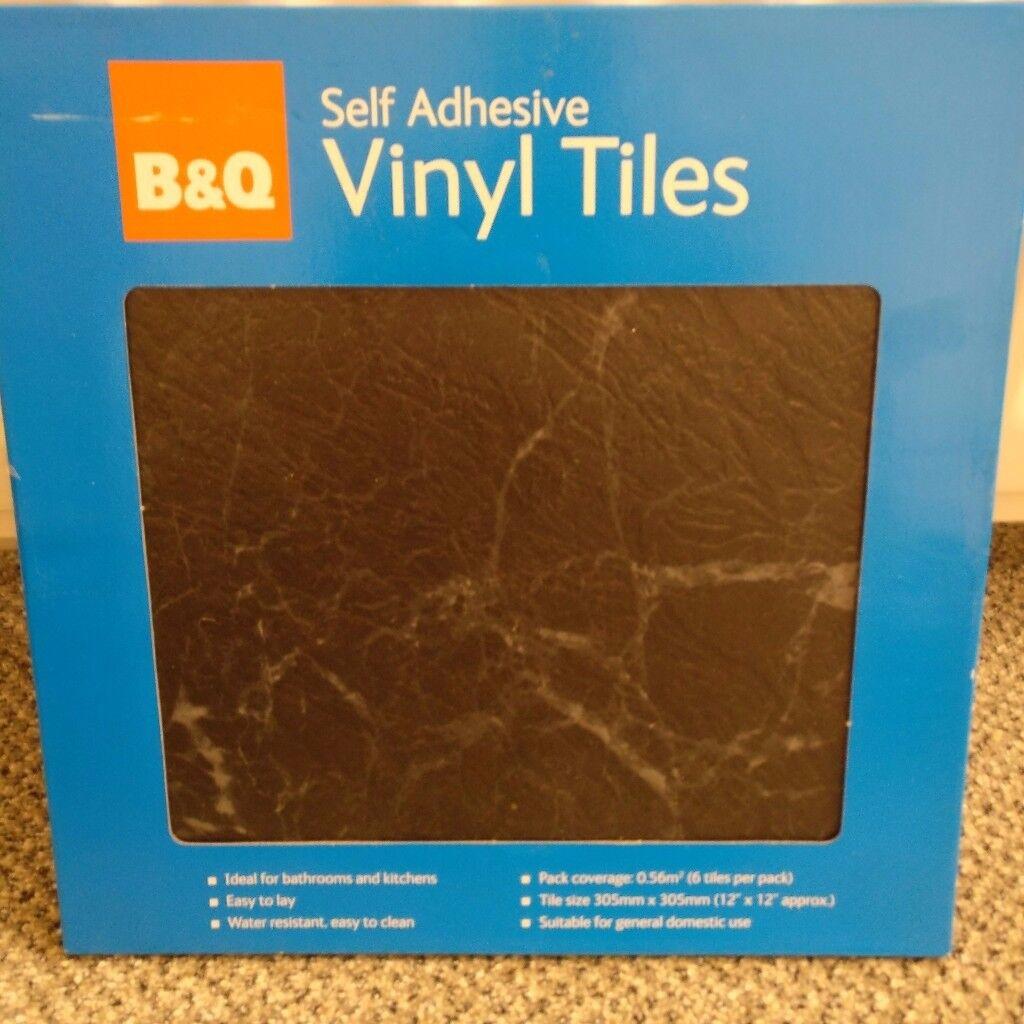 B&Q BNIB 10 Boxes Self Adhesive Vinyl Floor Tiles