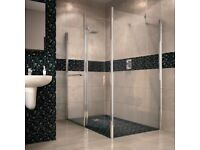 Aquadry wet room screen 700mm
