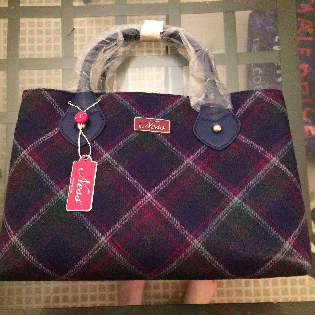 Gorgeous Tartan Ness Bag Brand New