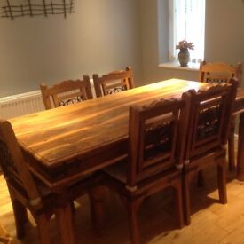 Sheesham 6 Seater Dinning Table