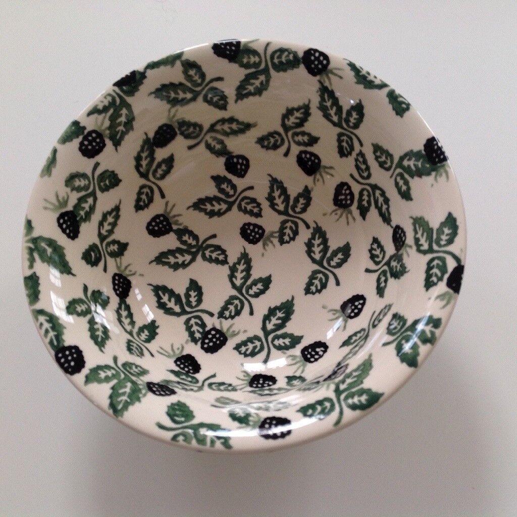 Emma Bridgewater Blackberry soup/cereal bowl