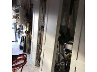 6 xWardrobe Doors- White in good condition
