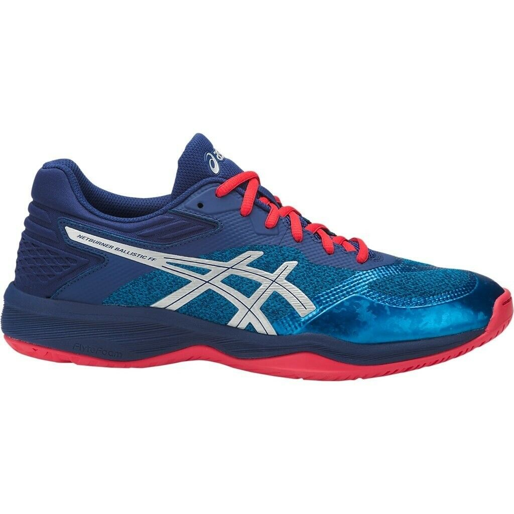Details about Mens Volleyball Shoes Asics GEL Netburner Ballistic FF Squash Volleyball