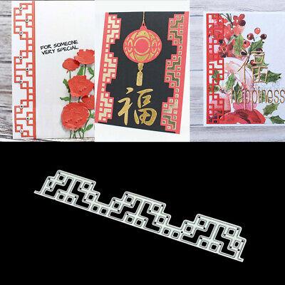 Die Stamped Lines (Lines Frame DIY Metal Cutting Dies Stencil Scrapbooking Photo Album Stamp Crafts )