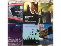 OFFER Law Books ( LLB, Criminal, Land, Equity, Tort, European, Constitutional)