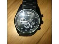 Designer Armani watch