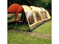 Outwell Hawaii Reef Five Man Tunnel Tent with Front Extension