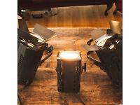 FRESNELS x3. Selecon Acclaim 300-650W and 150W Fres.