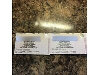 Niall Horan 2x Standing only tickets Brighton 27th March 2018