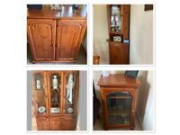 Solid wood 4 piece furniture set - Corndel Harvest Range