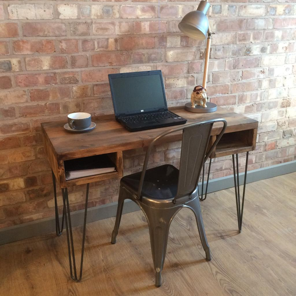 New Rustic Industrial Style Vintage Retro Office Desk