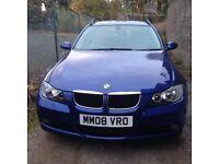 BMW 320 Diesiel estate , 63000 miles five door , year 's mot , full leather , reversing censors