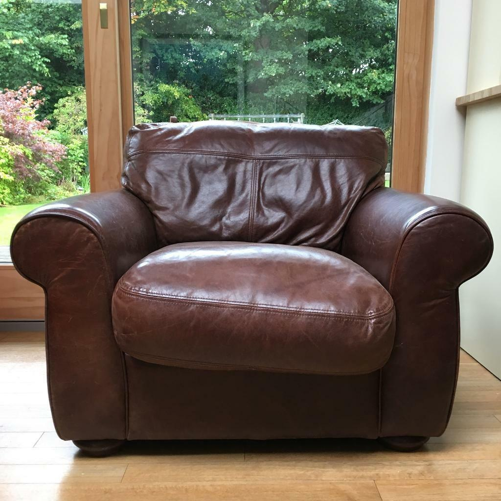 Leather Armchair (John Lewis Madison Range)