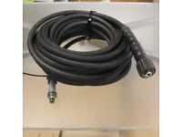 15m Pressure Washer Hose SMI Water Jet 1 Wire DN6 210 Bar 150ºC (M22/11mm)