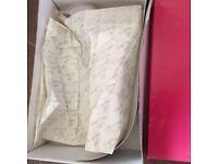 Rainbow Wedding shoes. Ivory. Size 5.5