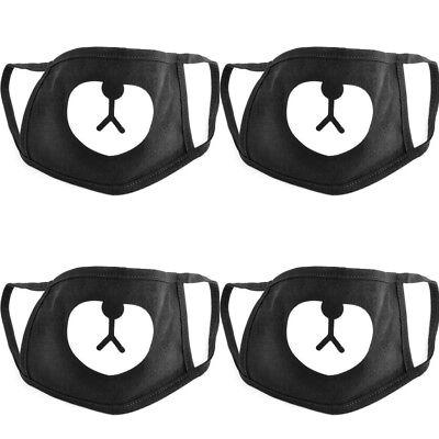 Fashion Ayo and Teo Face Mask panda bape  mask bear mouth - Bear Mask