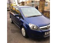 Vauxhall Zafira only 69.400 miles!