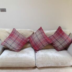 Cushions from Next, 3 available, Tweedy Check Morcott Red