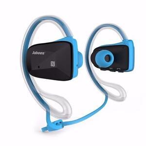Écouteurs Bluetooth v4.1 BSport Jabees - BLEU - VERT - ROUGE - BESTCOST.CA