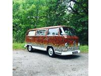 Lola the 1969 VW T2 Westfalia campervan